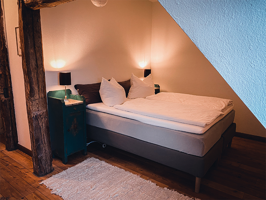 Zimmer Kastanie im Gutshaus Ehmkendorf